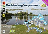TourenAtlas Wasserwandern / TA6 Mecklenburg-Vorpommern: 57 Karten. 1:75000 und 1: 25000 + Navigationssoftware