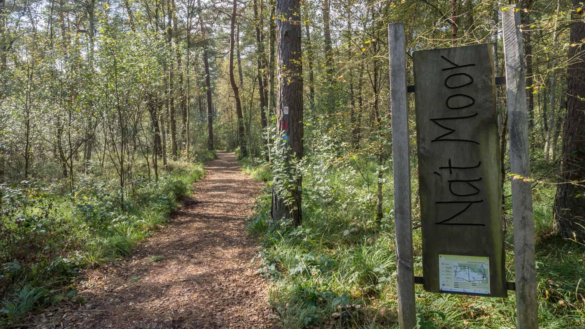 Nordpfad Dör't Moor Eingang