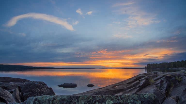 Sonnenuntergang zu Midsommer 3