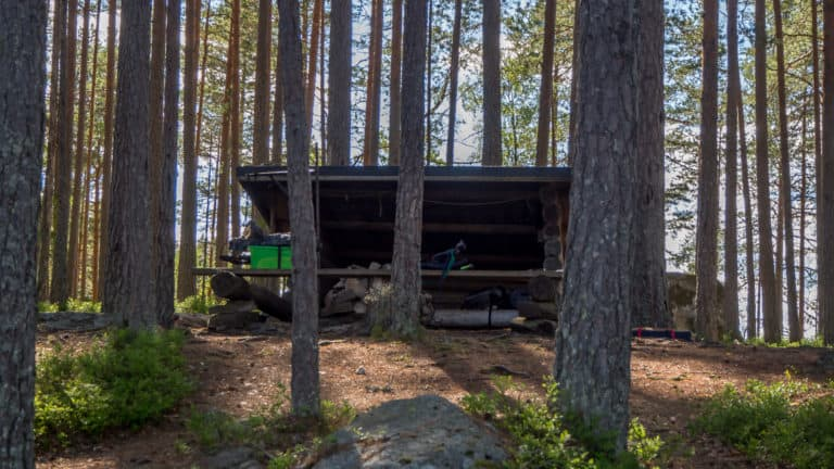 Schutzhütte Stora Gla 1