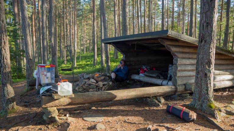 Schutzhütte Stora Gla 2