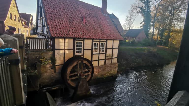 Mühlenrad Ladbergen