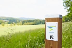 Teutoschleifen Holperdorper Wegweiser©Tecklenburger Land Tourismus e.V.
