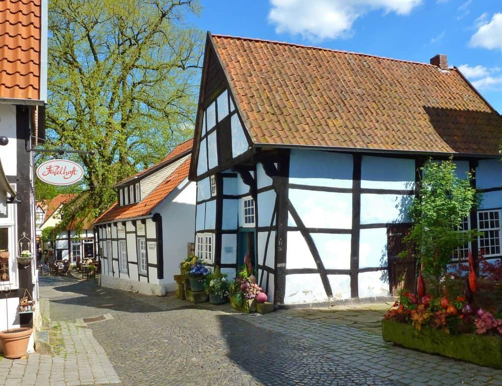 Teutoschleife Tecklenburger Bergpfad Krummacherstraße©Tecklenburger Land Tourismus e.V.