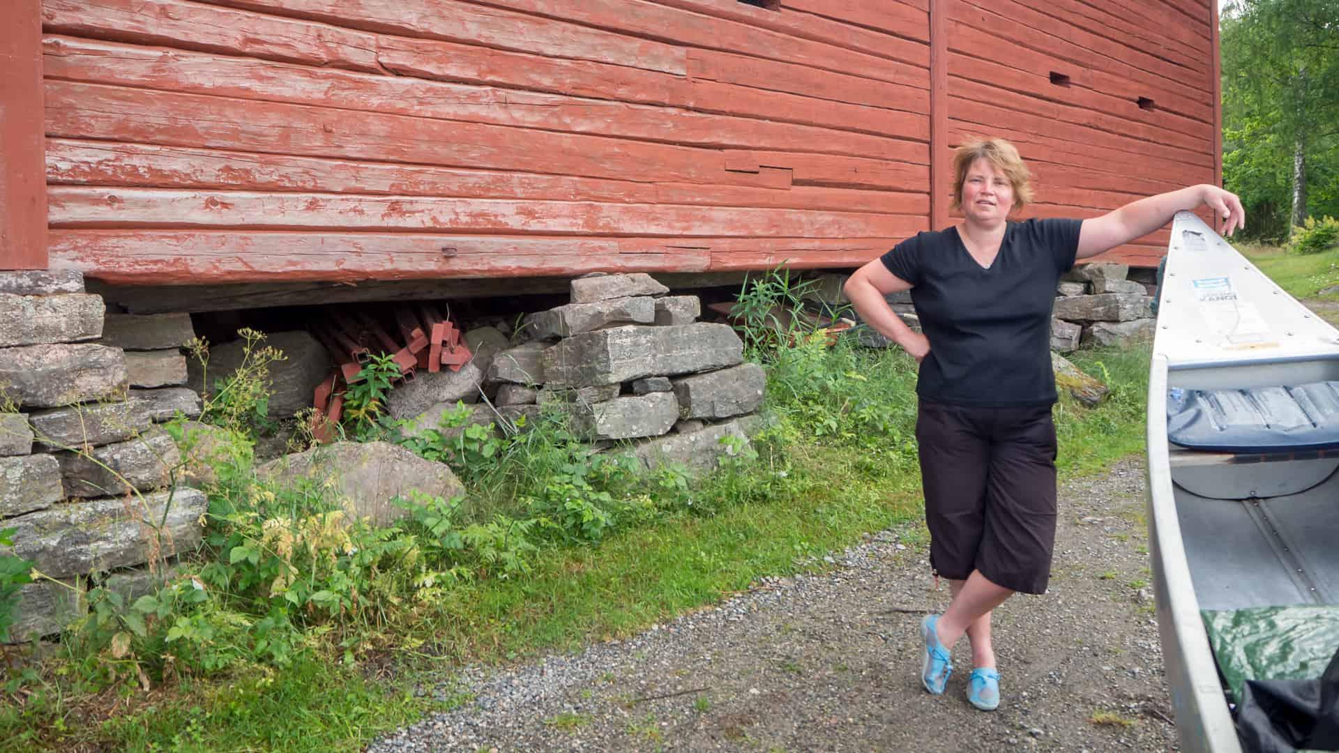 Einsetzstelle am Glafsfjorden erreicht