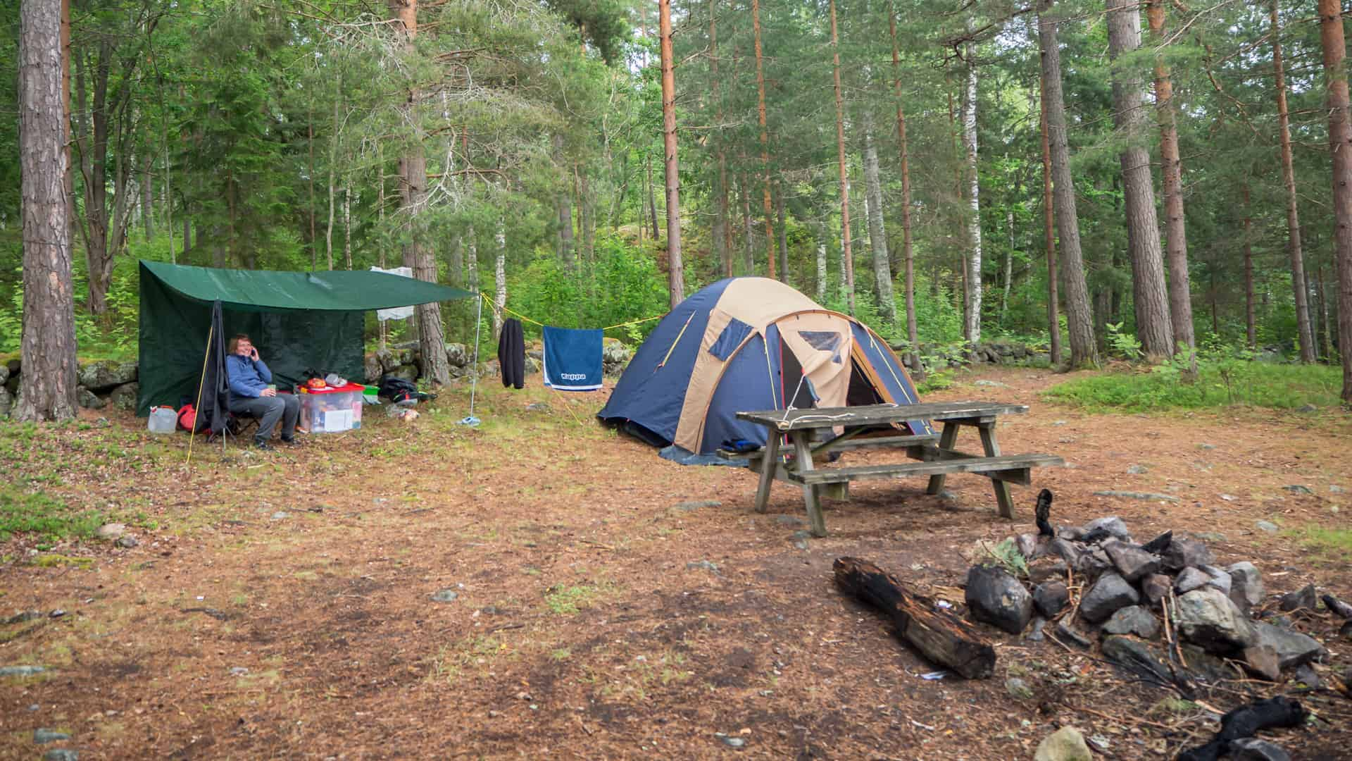 Lagerplatz Glafsfjorden Tag 7
