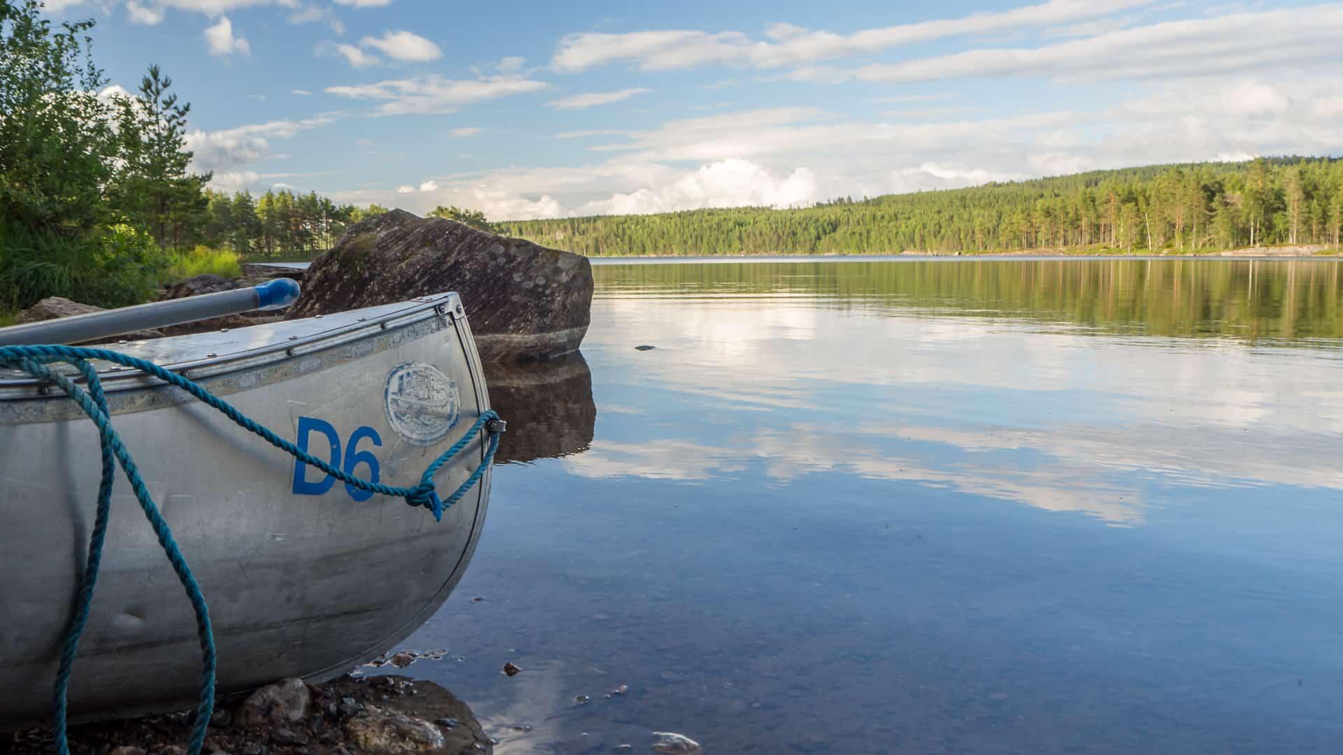 Einsetzen am Gränsjön 1