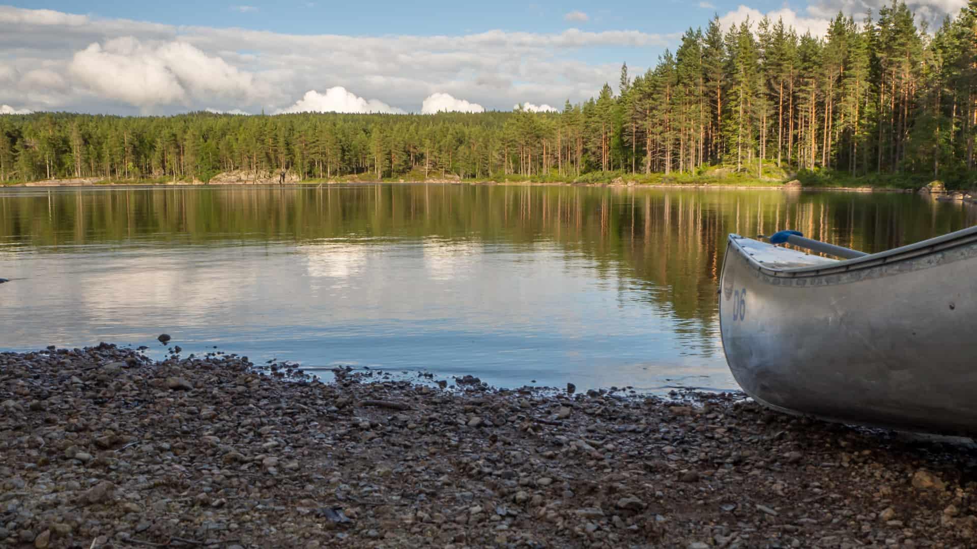 Einsetzen am Gränsjön 2