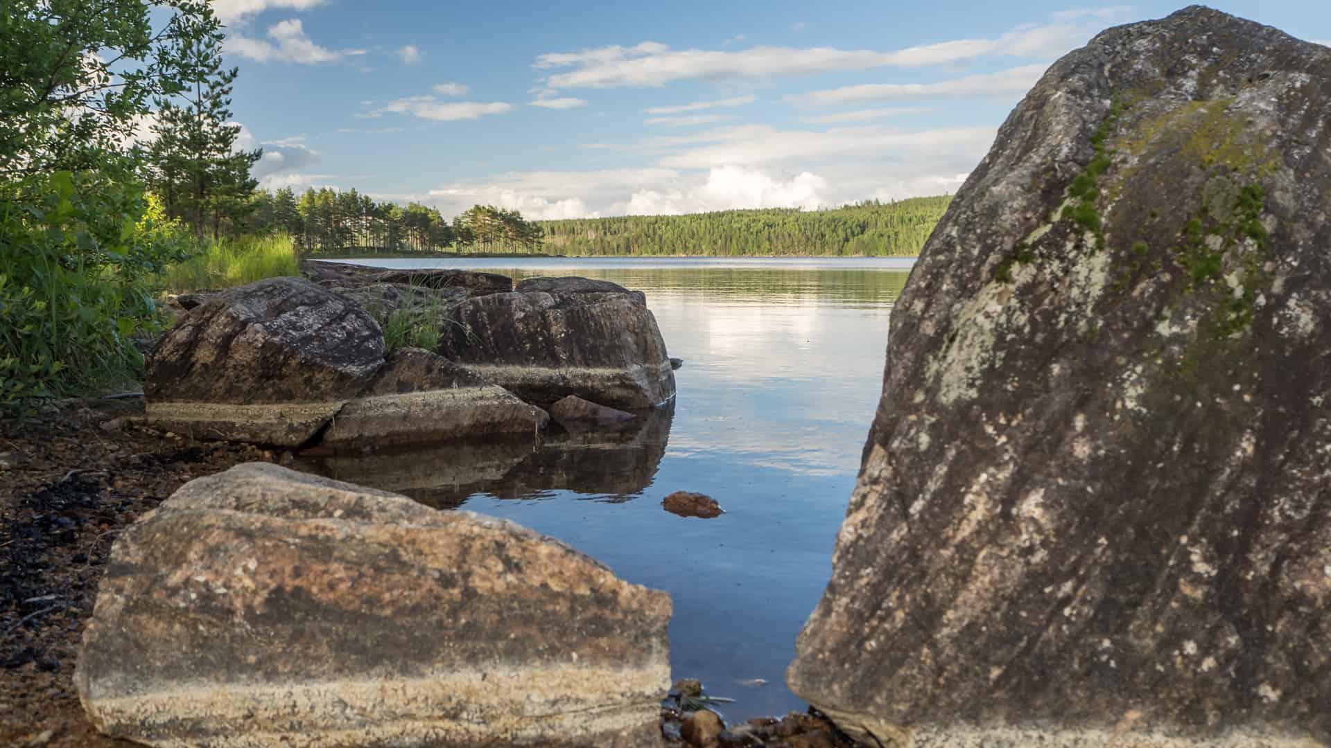 Blick auf den Gränsjön 2