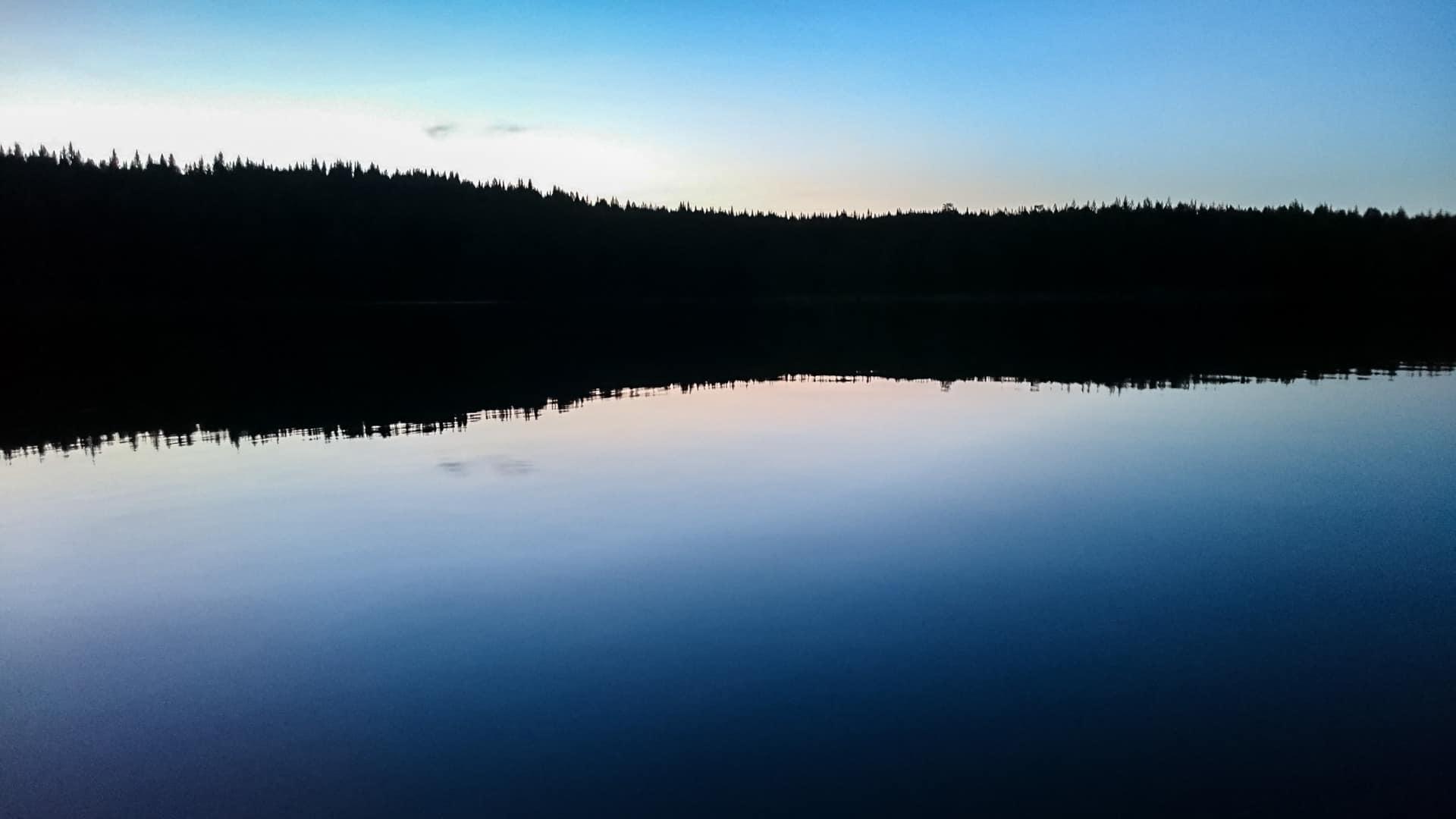 Örsjön erreicht um 23:30