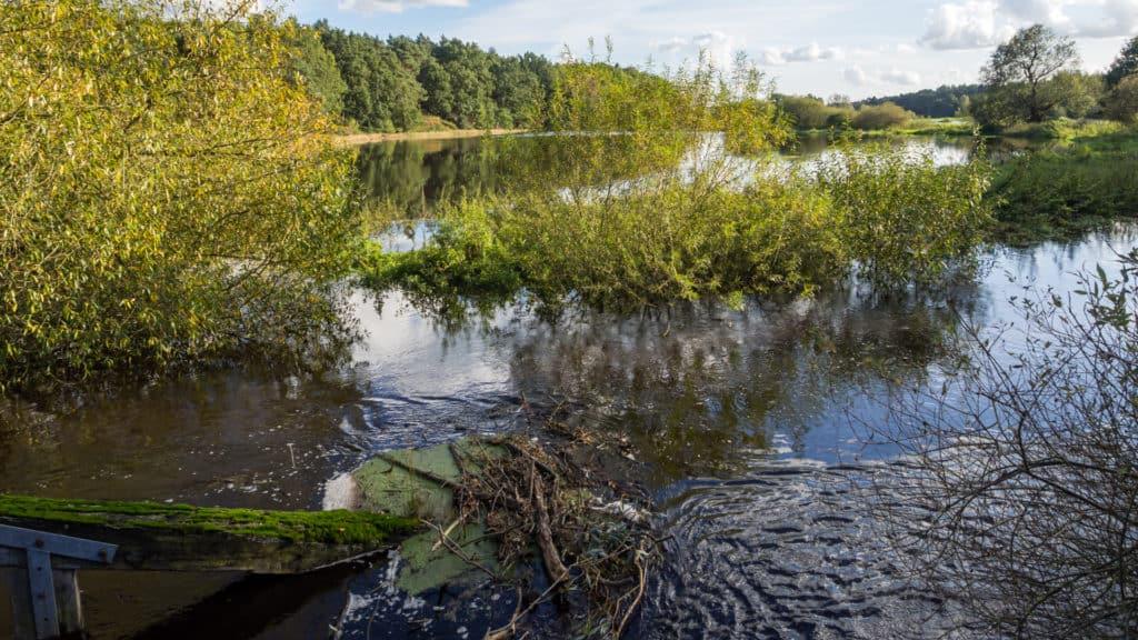 Nordpfad Ostetal unter Wasser 4