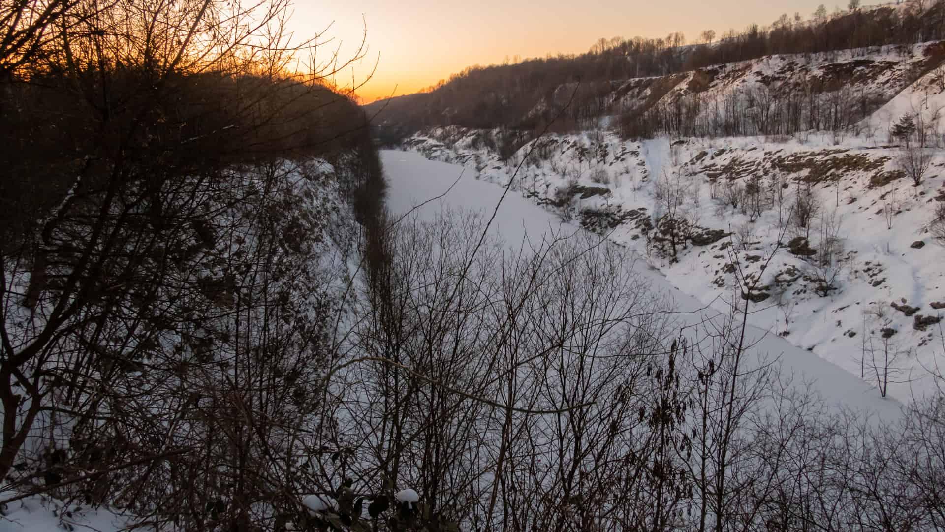 Der Canyon bei Lengerich