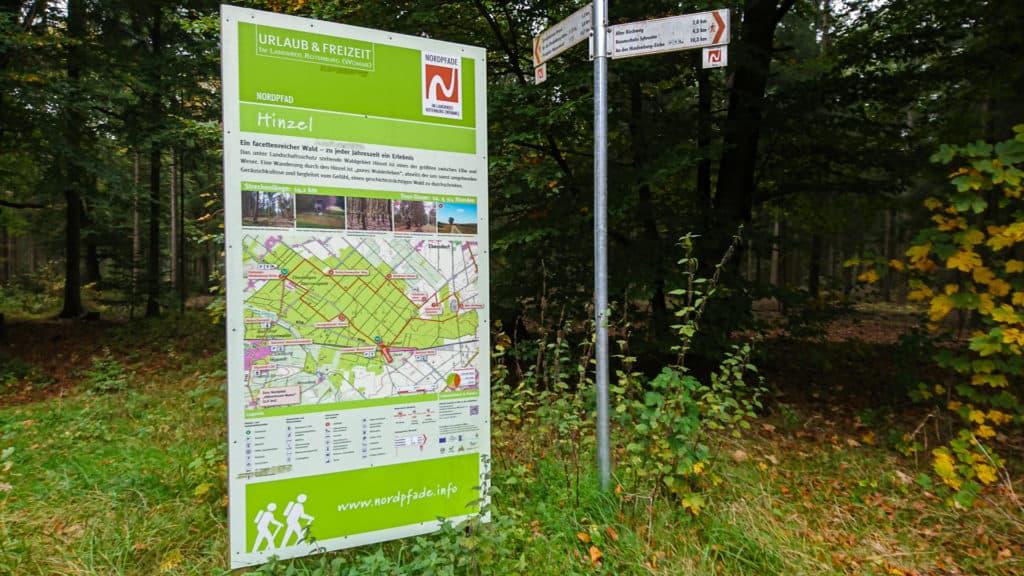 Start Nordpfad Hinzel
