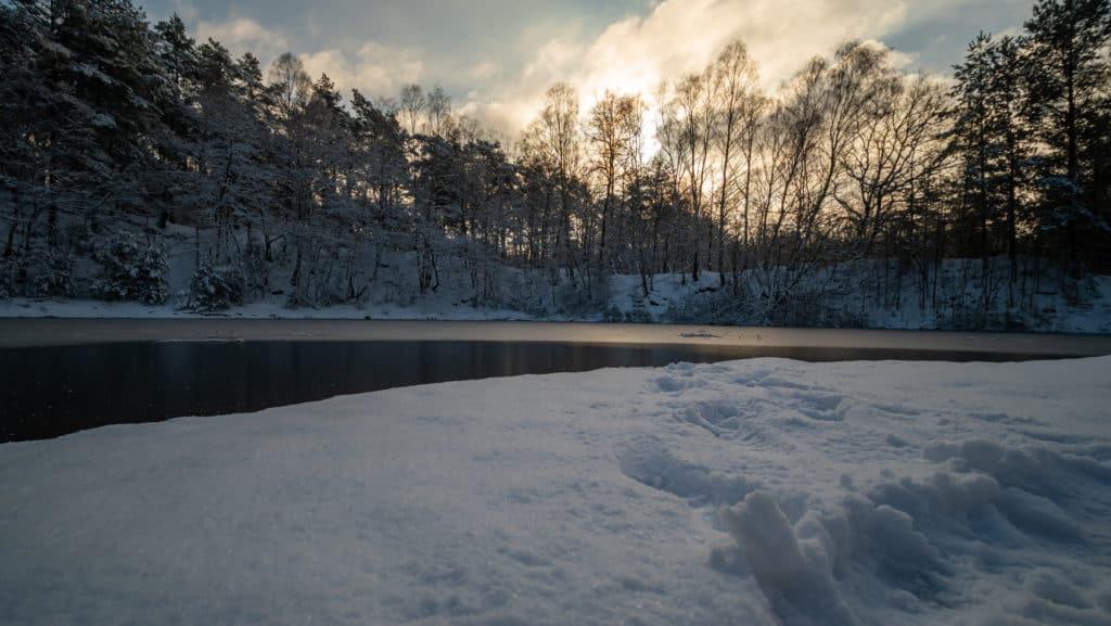 See auf dem Truppenübungsplatz Schwanewede 2