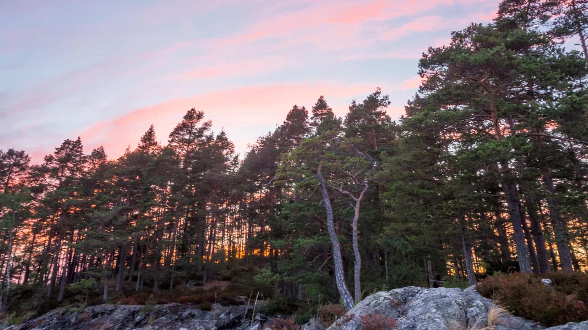 Sonnenuntergang Tag 3
