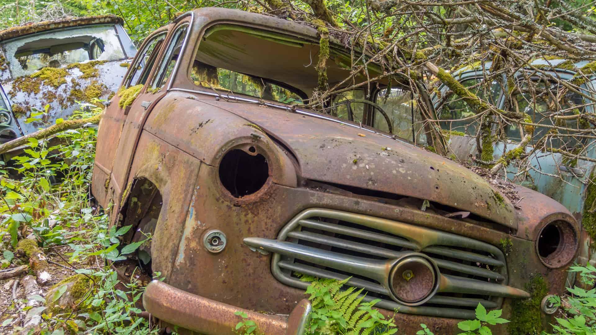 Autofriedhof Bastnäs 04
