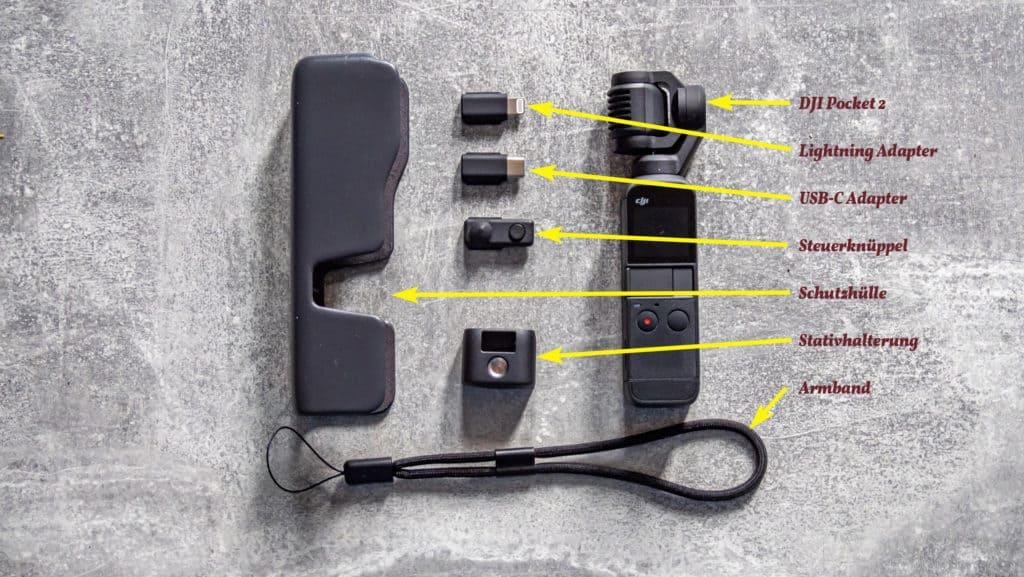Pocket 2 Lieferumfang