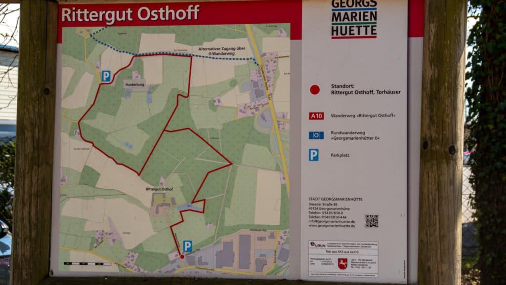 Rittergut Osthoff Wanderweg A10