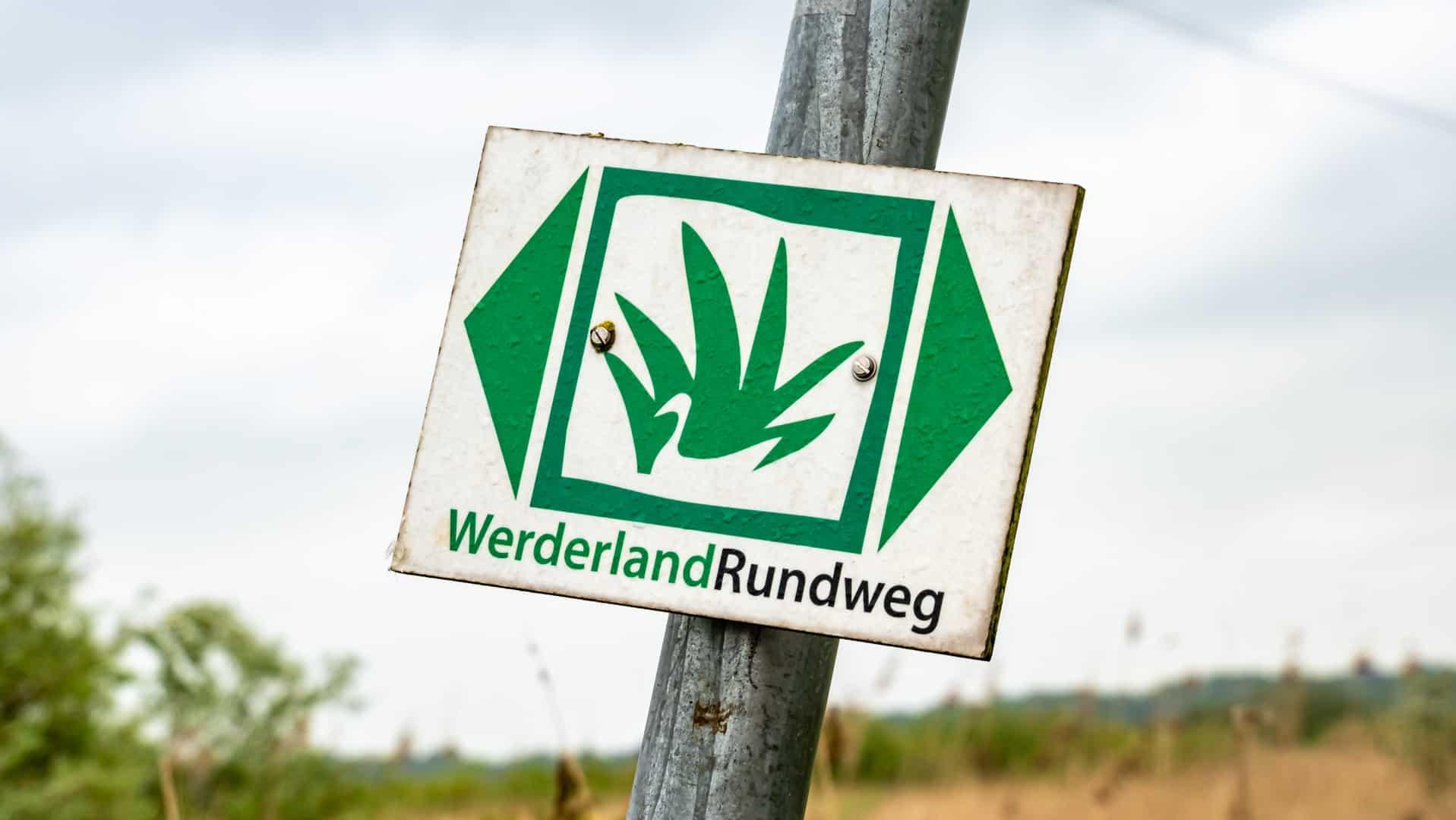 Ökopfad im NSG Werderland – 8,5 km zwischen zwei Flüssen