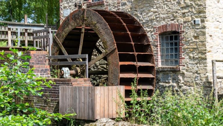 Mühlenrad bei Knollmeyers Mühle